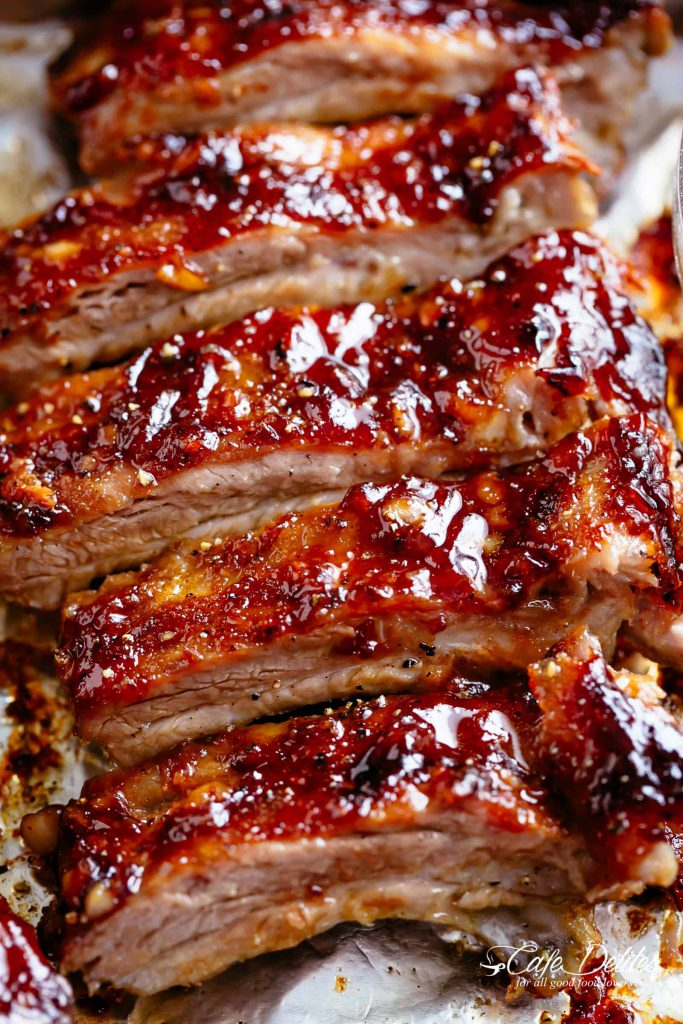 Barbecued Spare Ribs with Syrup