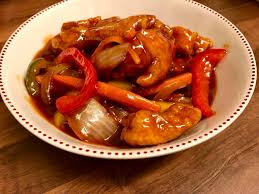 Chicken with Peking Sauce