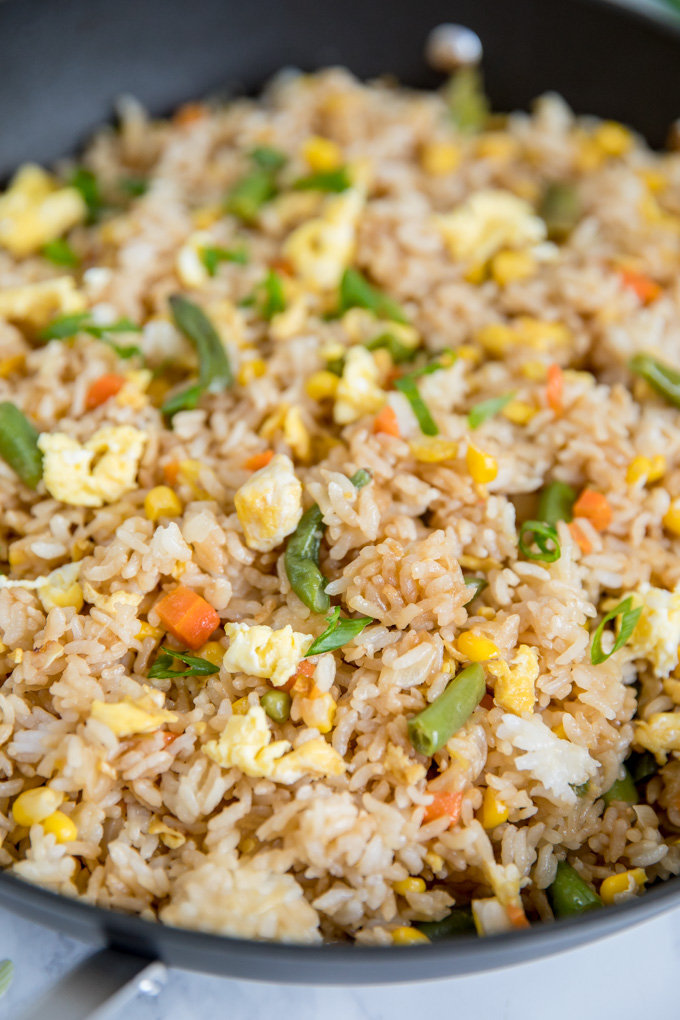 Egg fried rice chinese takeaway