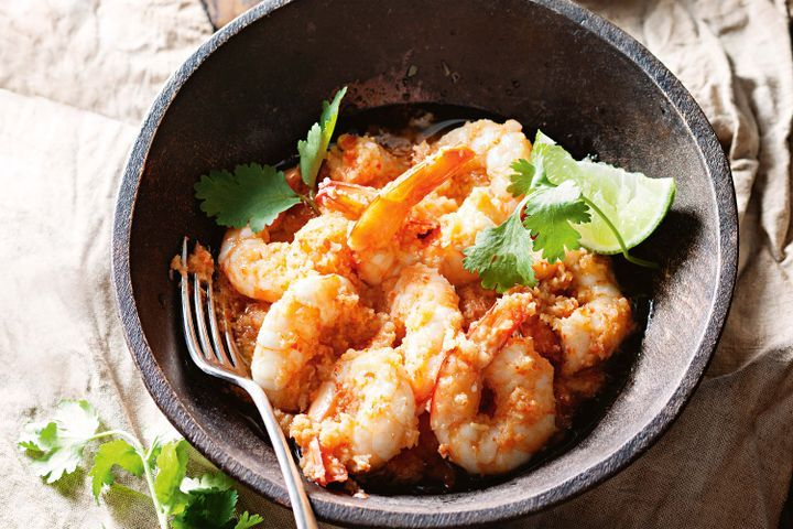 King Prawns with Thai Sauce