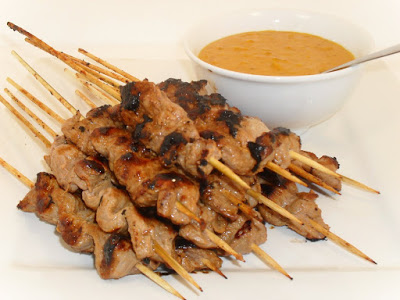 Lamb with Satay Sauce