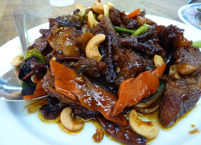 Roast Duck with Cashew Nuts