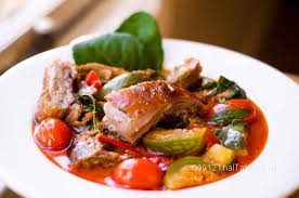 Roast Duck with Thai Sauce