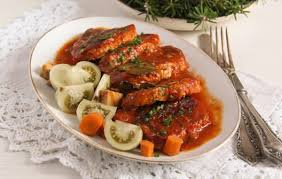 Roast Pork with Tomatoes
