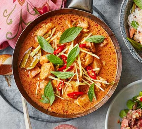 Thai Style Red Beef Curry