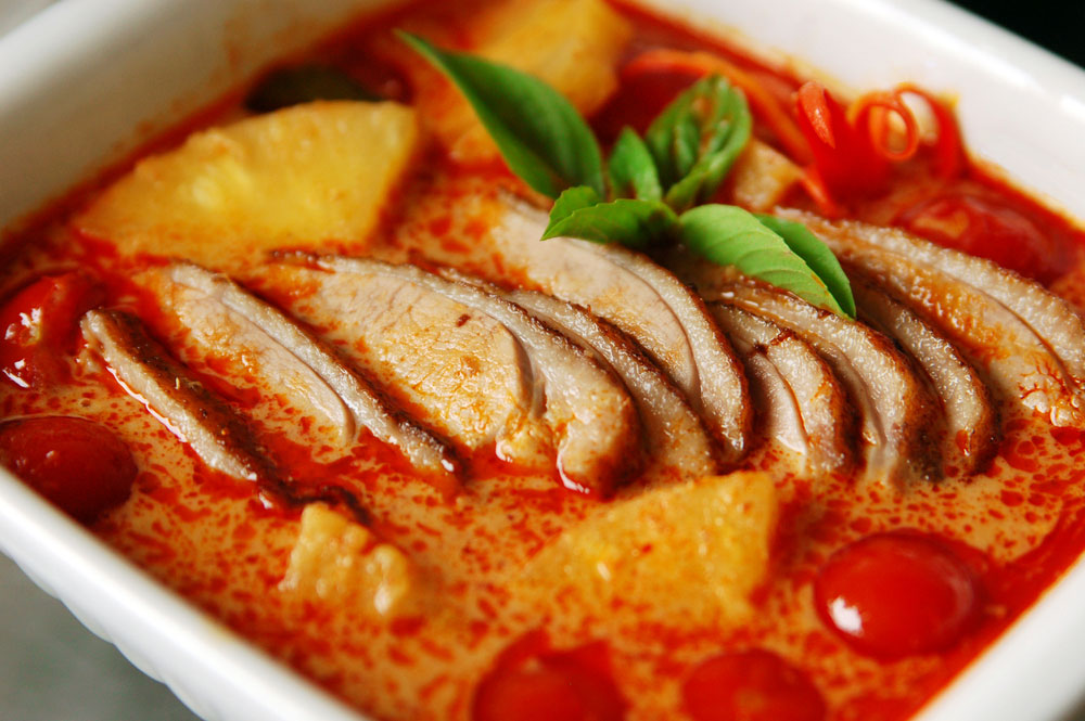 Thai Style Red Duck Curry