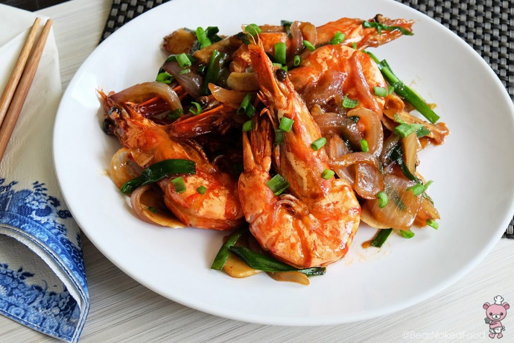 chinese King Prawn Dishes